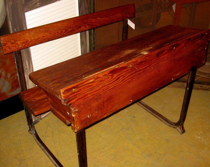 Double antique children s desk wow antiques pinterest