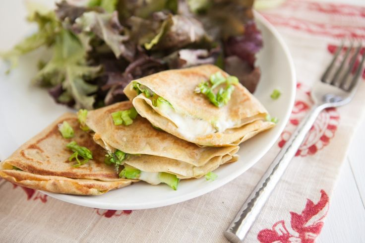 Grilled Cheese Crepes with Shaved Asparagus: Asparagus Recipe ...