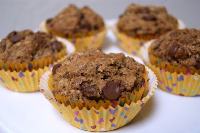 Lo-cal espresso chocolate chip muffins | Healthier choices | Pinterest