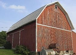 A gambrel roof shares a cross section with the mansard for Mansard roof section