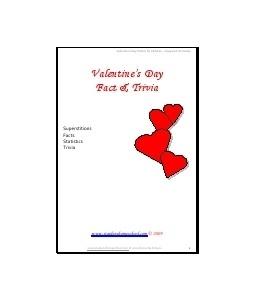 valentine's day fun facts 2015