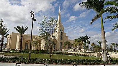 Fort Lauderdale Temple Open House Changes Hearts - Church News and