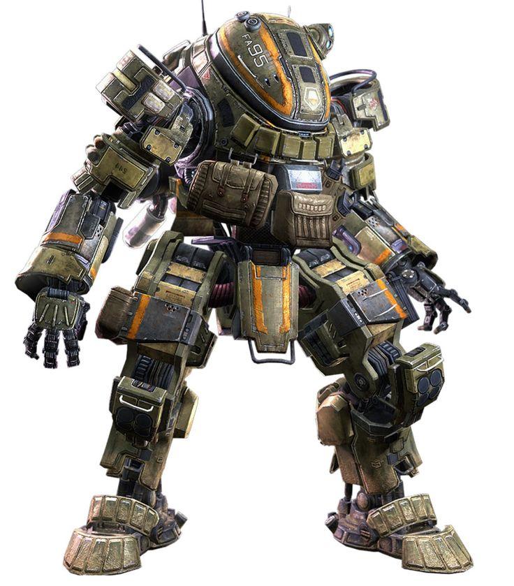 militia ogre from titanfall mecha pinterest