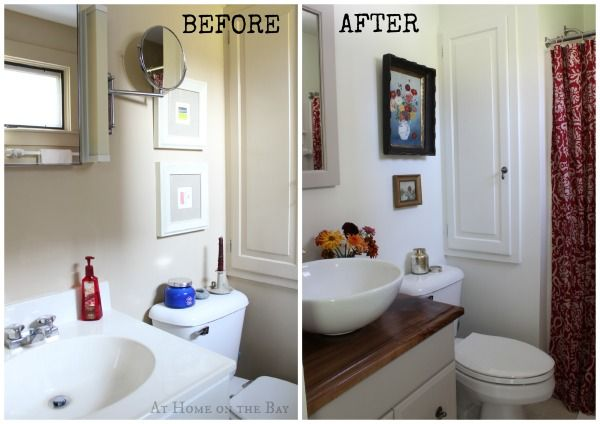 Bathroom Before And After 500 Update Bath Pinterest