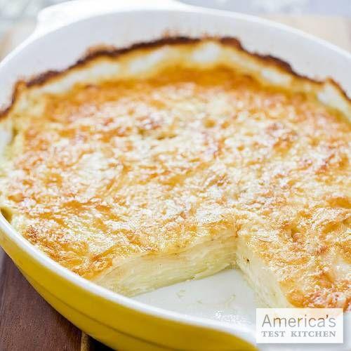 Potato Au gratin. | food to try | Pinterest