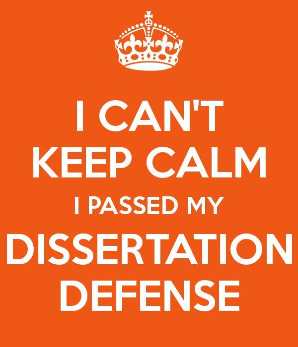 Motivation dissertation