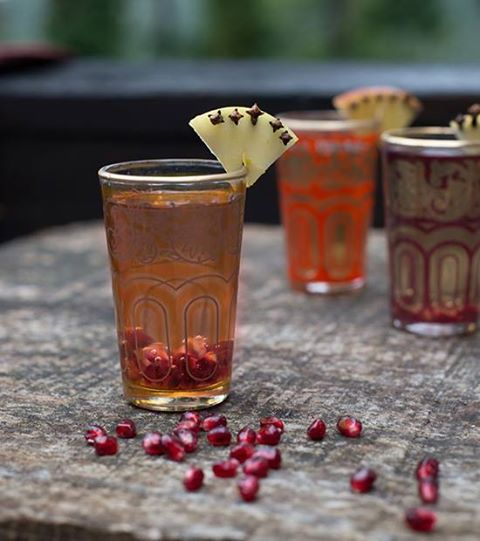 Spiced Pomegranate Apple Cider! What You Need: 1 gallon of apple cider ...