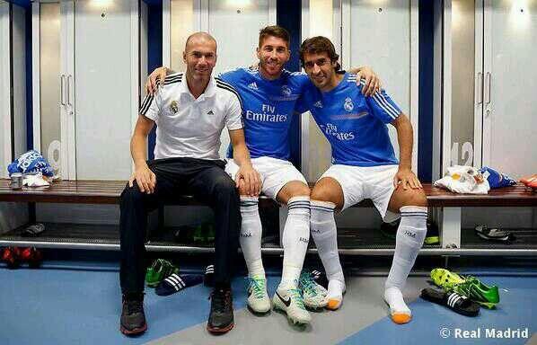 Zidane, Ramos & Raúl.  Real Madrid C. F.  Pinterest