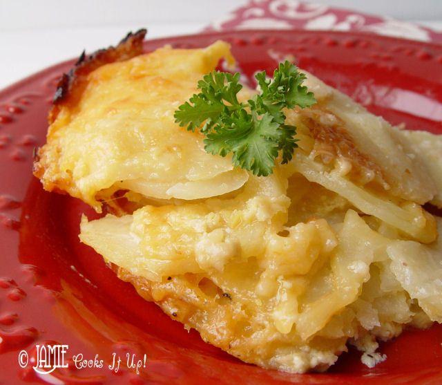 Cheesy Au Gratin Potatoes   Potato/Rice Side Dishes   Pinterest