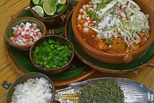 Red Pozole   At Table   Pinterest
