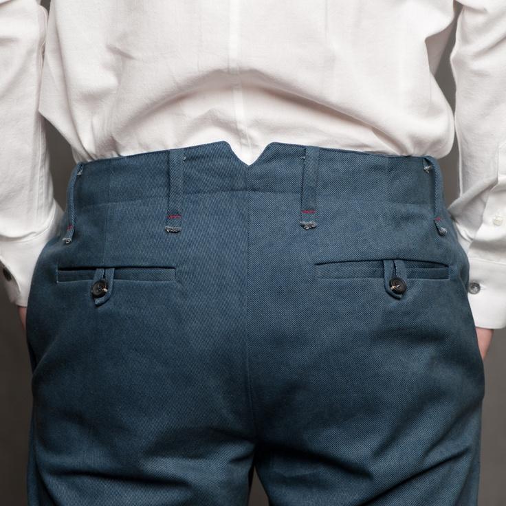 18 Waits - Scout Pant (Back Detail)