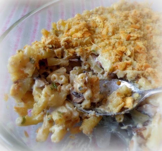 Herbed mushroom mac and cheese | Mac & Cheese | Pinterest