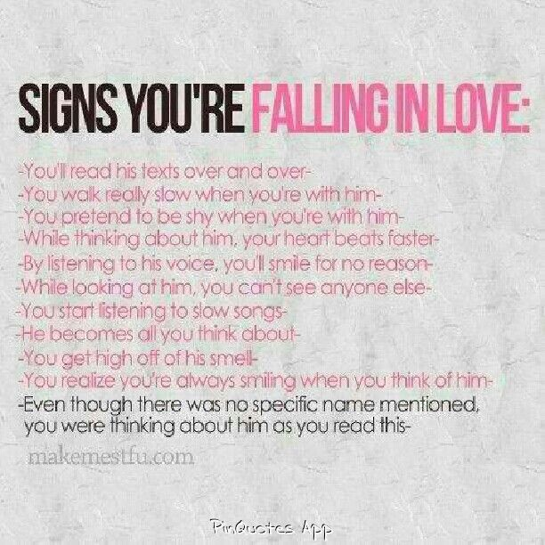 love signs interested