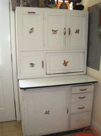hoosier cabinet dream home pinterest