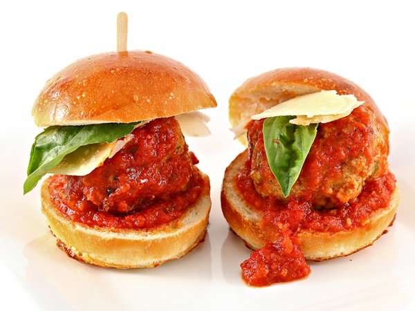 Mini Meatball Sandwich | MINI FOODS & DESSERTS | Pinterest
