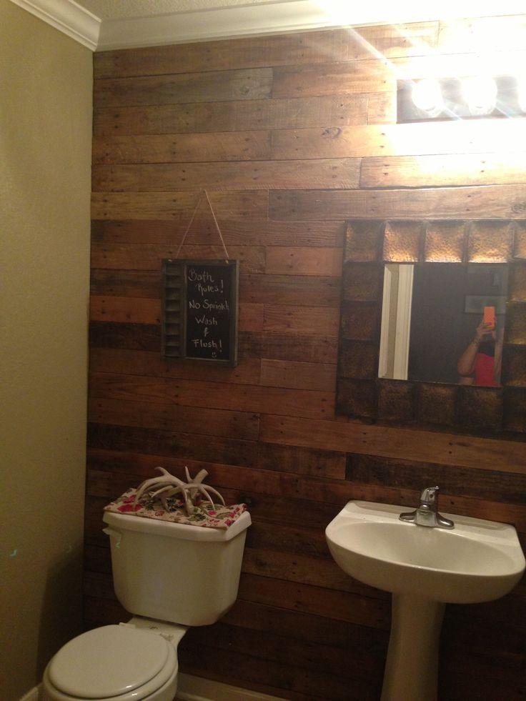 Half bath ideas for the home pinterest for Half bathroom ideas pinterest