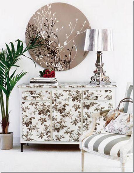 Muebles De Baño Reciclados:MUEBLES RECICLADOS CON PAPÉL PINTADO