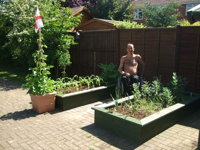 disabled friendly gardening for wheelchair users