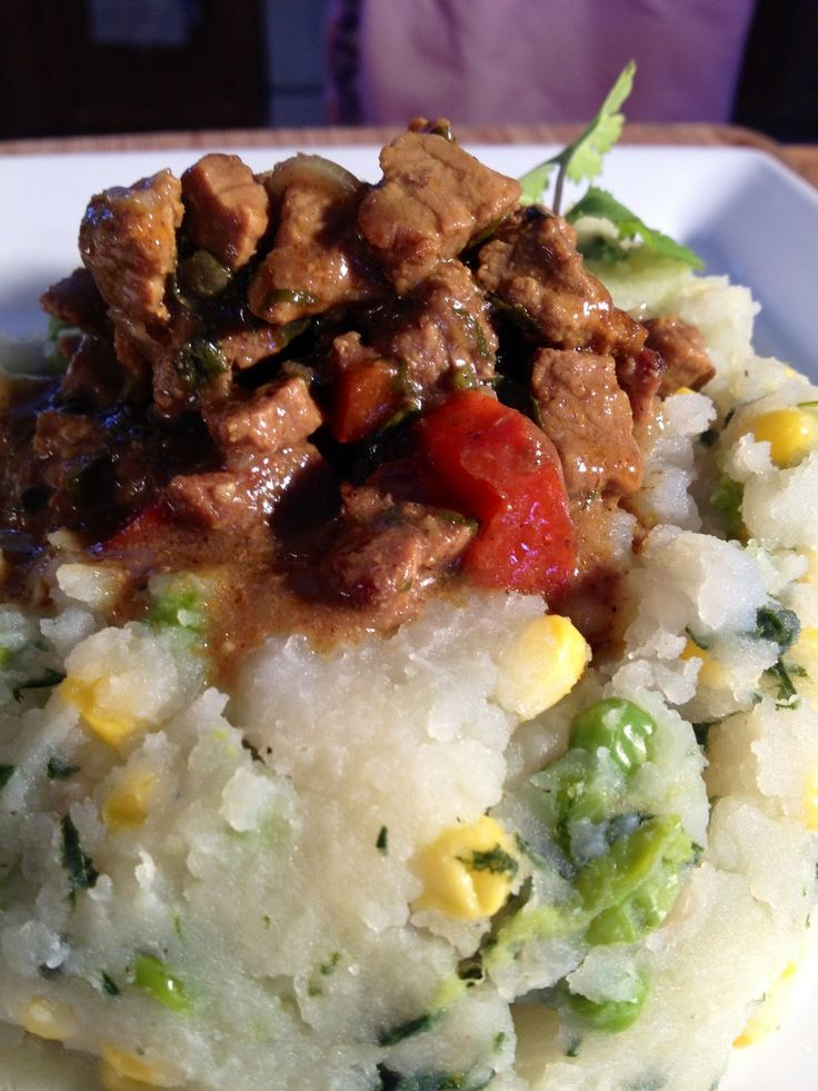 Stella's Meza: Kenyan Comfort (Irio, Beef Stew and Tropical Bread ...