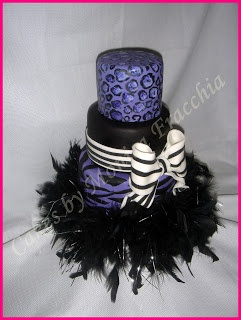 TORTA DECORADA ANIMAL PRINT LEOPARDO Y CEBRA | TORTAS CAKES BY MONICA FRACCHIA