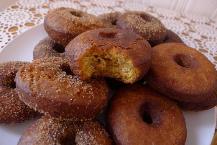 Pumpkin Spice Cider Doughnuts | fooooooooood | Pinterest