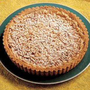 Love this tart in the summer. Recipe for Lemon And Pine Nut Tart : La ...