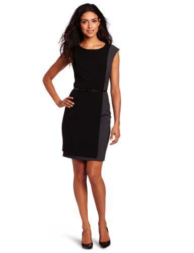 Calvin Klein Women`s Color Block Dress $92.99 #topseller