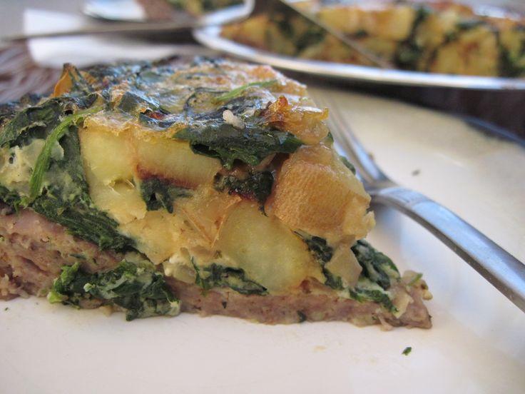 Meat And Potato Quiche Recipe — Dishmaps