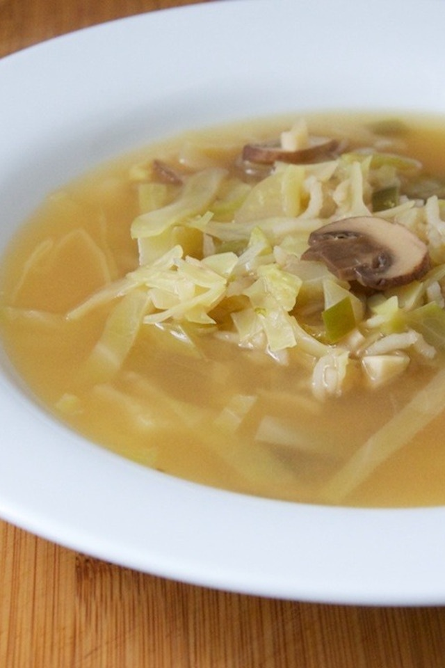 Hot and Sour Soup with Cabbage and Rice | Recipe | Pinterest