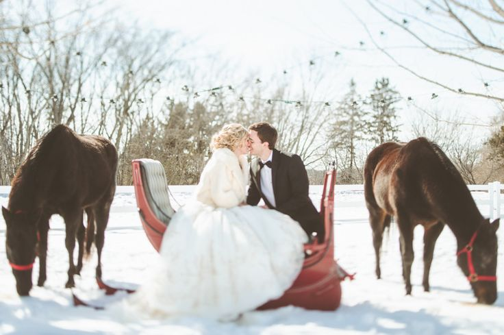 Photography: Paper Antler Photography - paperantler.com  Read More: http://www.stylemepretty.com/2013/08/14/minnesota-winter-wedding-from-paper-antler-photography/