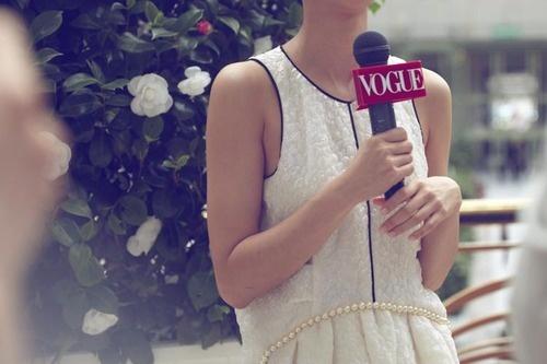 Vogue reporter