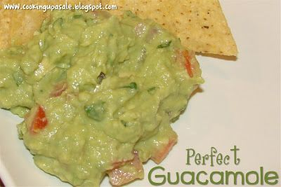 Cooking Up a Sale: Perfect Guacamole | Yummy | Pinterest