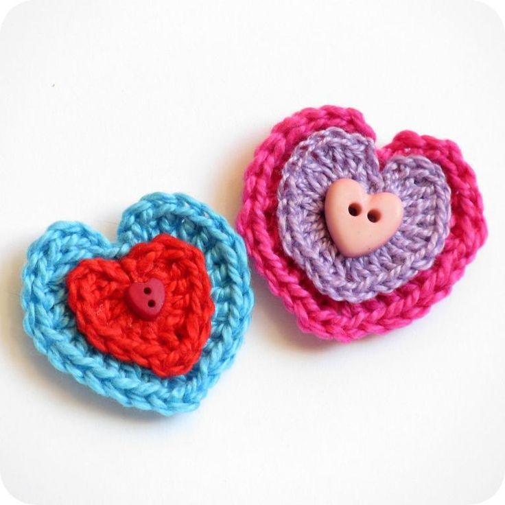 Crochet Tutorial Heart : how to crochet a heart :: photo tutorial Crochet Pinterest