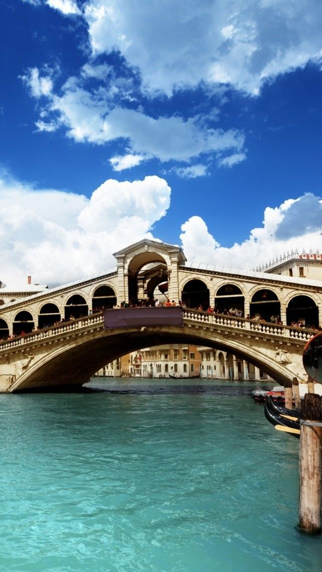 Rialto Bridge, Venice, Italy ... Perfect place to go when we didn't feel like going to school... :)