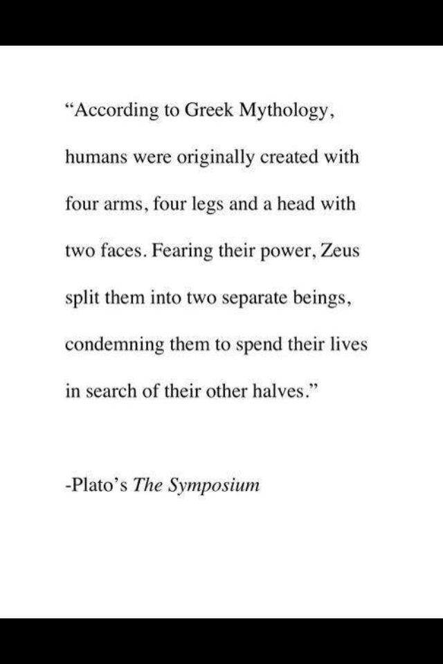 greek mythology # soulmates