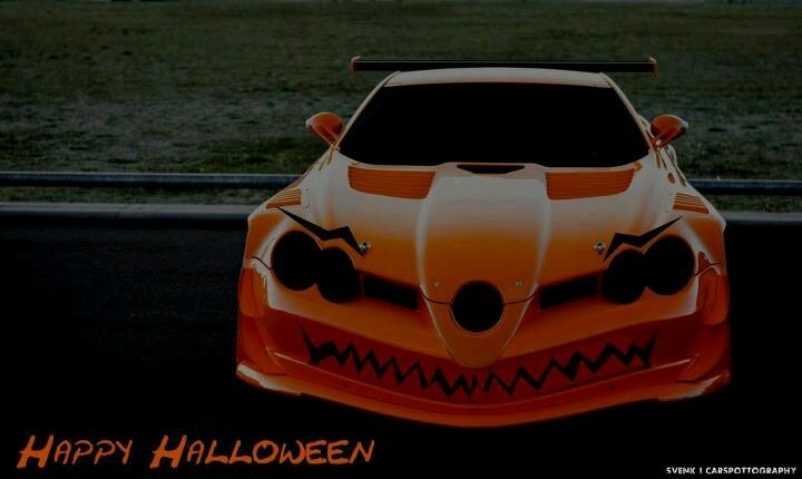 Halloween car cars motorcycle pinterest for Happy motors lakewood colorado