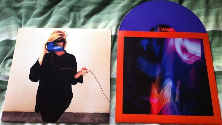 The epic new EMA album The Future's Void, pressed on purple vinyl! Full review: http://iplugtoyou.blogspot.co.uk/2014/04/ema-futures-void-album-review.html?m=1