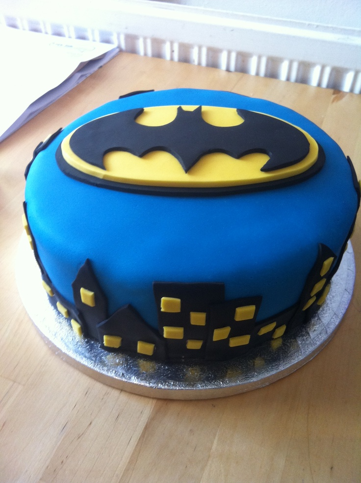 Birthday Cake Batman Ideas Pictures