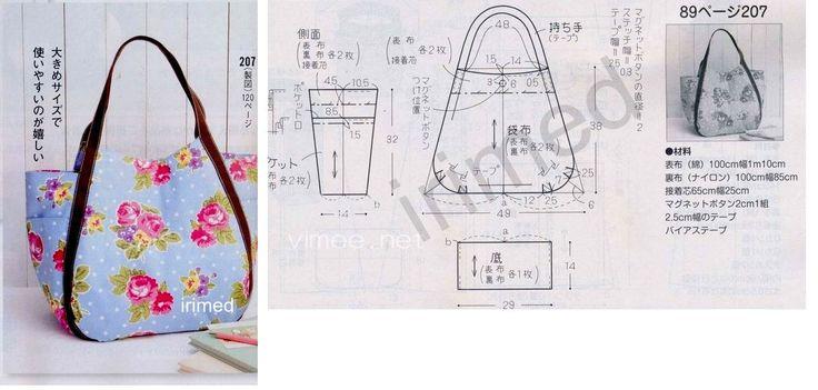 Выкройка пляжной сумки своими руками мастер-класс 16