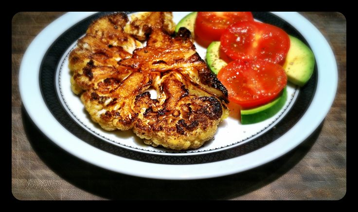 Cauliflower Steaks With Ginger-Soy Sauce Recipes — Dishmaps