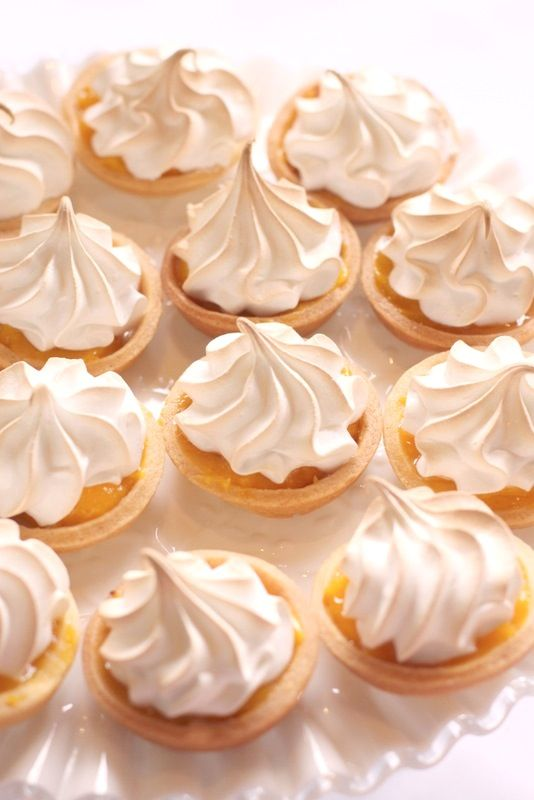 Mini Lemon Meringue Pies   Food!   Pinterest