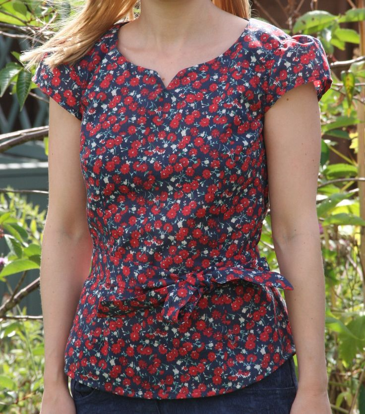 Alma Blouse Pattern Uk 75