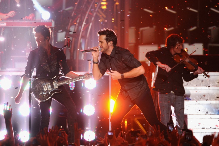 Luke Bryan performs at the #GRAMMYNoms Concert on Dec. 5th in Nashville. The 55th GRAMMY Awards airs 2/10/13 on CBS! #TheWorldIsListening Photo: Kevin Winter/Getty Images