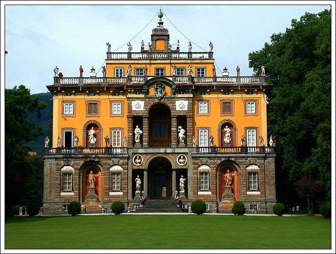 Villa Torrigiani, Lucca, Italy