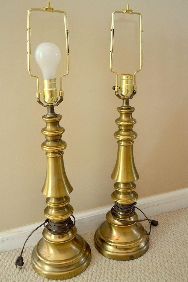 Spray Paint Standing Lamp
