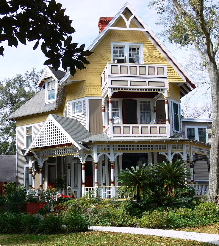 victorian painted lady porch - photo #11