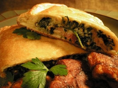Spinach and Three Cheese Calzones | Food Recipes | Pinterest