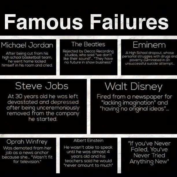 Walt Disney Famous Failure Quotes Quotesgram