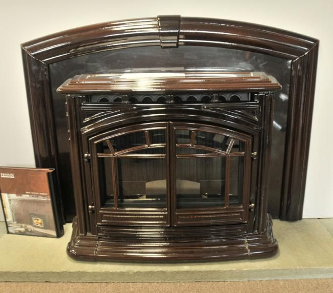 pellet stove insert cabin pinterest. Black Bedroom Furniture Sets. Home Design Ideas