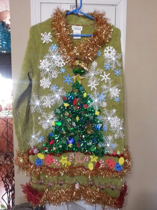 Ugly Christmas Sweater :) | ugly christmas sweaters | Pinterest